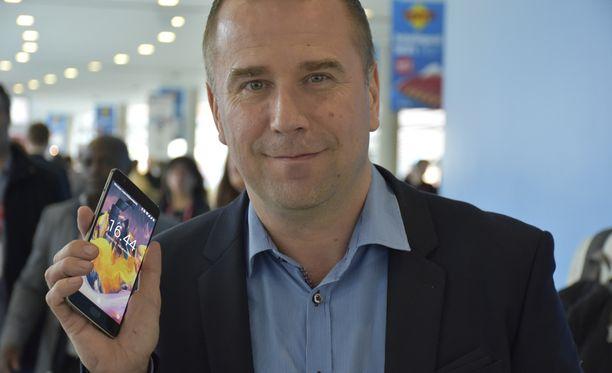 Oneplussan kehitysjohtaja Juha Rytkönen on työskennellyt aiemmin muun muassa Nokialla ja Microsoftilla.