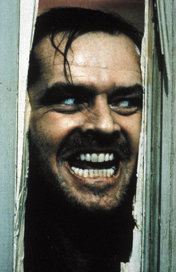 Jack Nicholson näytteli pääosaa Hohto-elokuvassa.