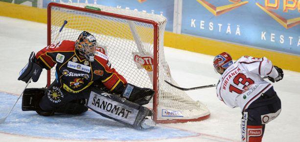 Petteri Wirtanen aloitti HIFK-juhlat Areenalla.