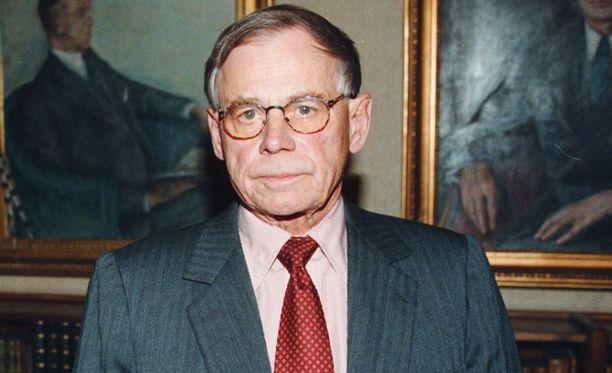 Casimir Ehrnrooth on kuollut 84-vuotiaana.
