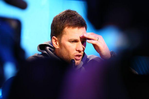 Tom Brady on voittanut Super Bowlin viidesti.