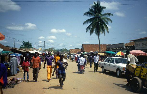 Tapaus todettiin Gueckedoun prefektuurissa Guineassa.