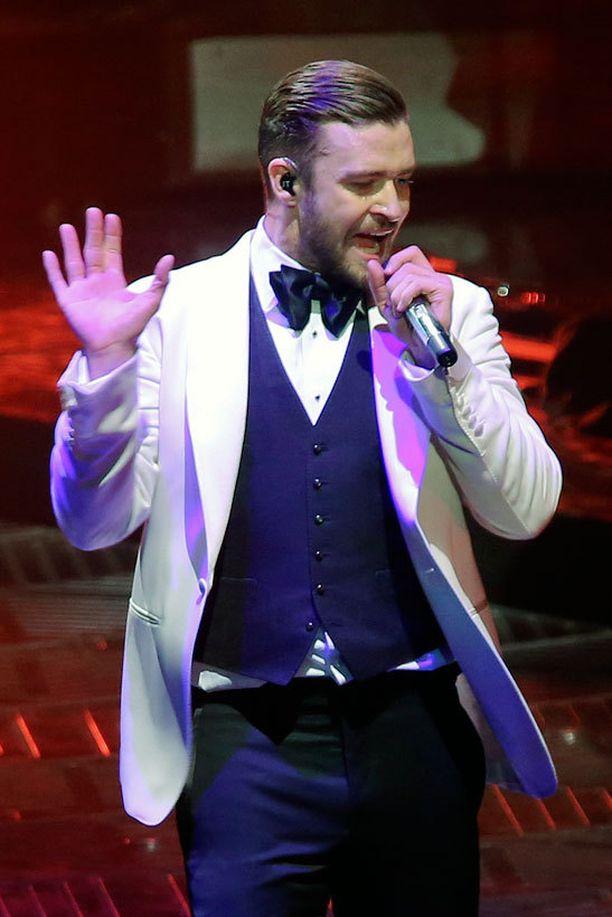 Justin Timberlake esiintyy tänään Helsingissä loppuunmyydyllä keikalla.