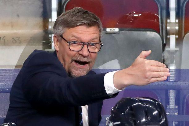 Jukka Jalonen ei saanut Columbus Blue Jacketsin päävalmentajan pestiä.
