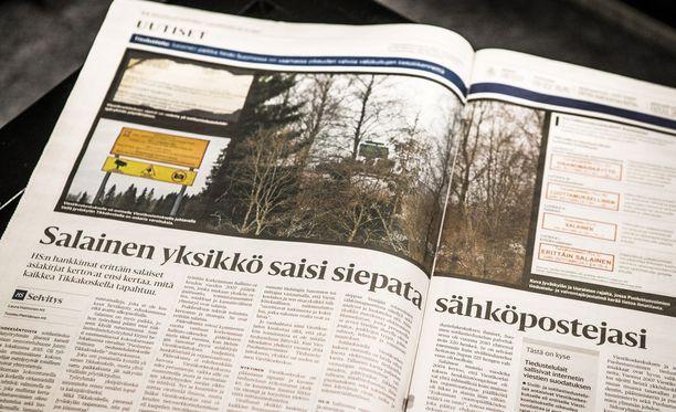 Helsingin Sanomille vuodettujen Viestikoelaitoksen asiakirjojen joukossa on myös ykkösturvaluokan aineistoa eli niin kutsuttuja erittäin salaisia asiakirjoja.