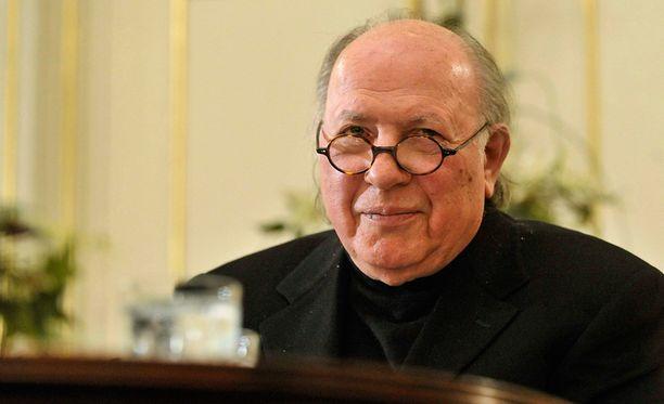 Imre Kertész maaliskuussa 2010.