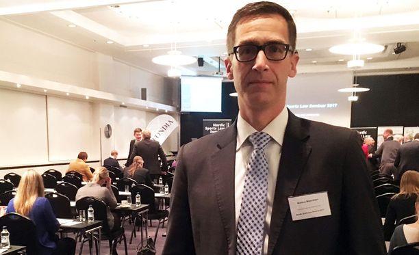 Markus Manninen on toiminut 17 kertaa CAS:n jutuissa. Tapauksista kuusi on ollut tämän vuoden aikana.
