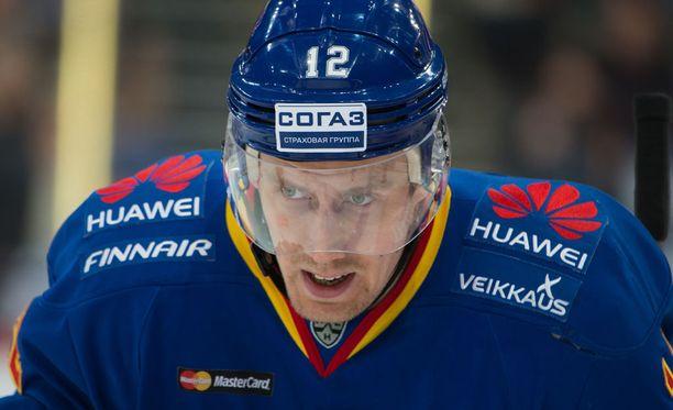 203-senttinen Marko Anttila oli ottelun hahmo Gordie Howe -hattutempun myötä.