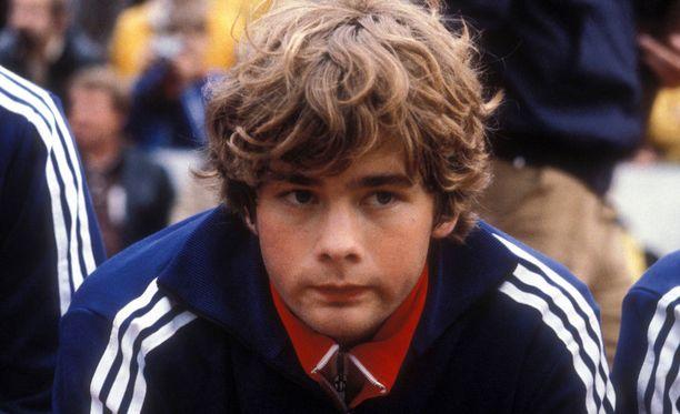 Pasi Rautiaisen ura ulkomailla alkoi Bayern Münchenissä 1980.
