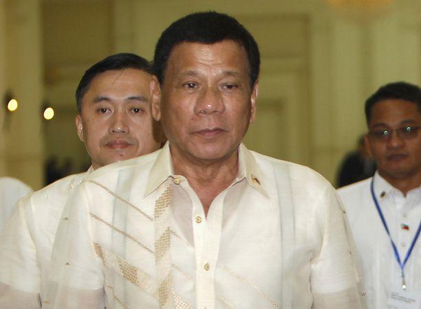 Presidentti Duterte on säälimätön rikollisia kohtaan - laillista tai ei.