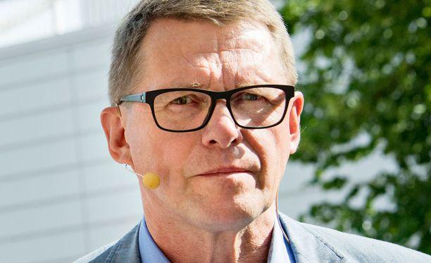 Matti Vanhanen ei kannata Suomen Nato-jäsenyyttä.