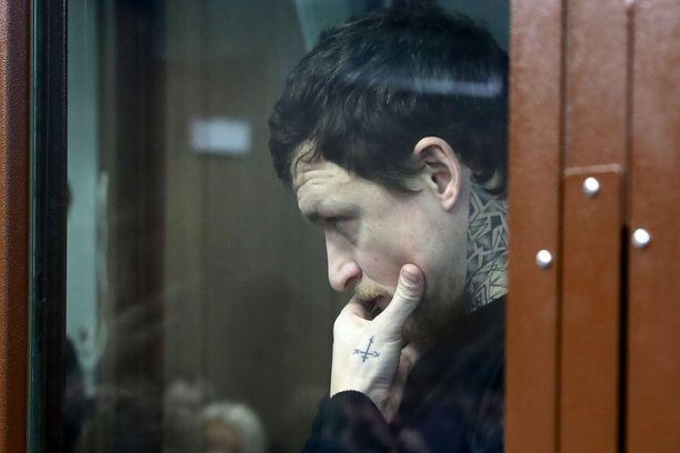 Aleksandr Kokorin helmikuussa.