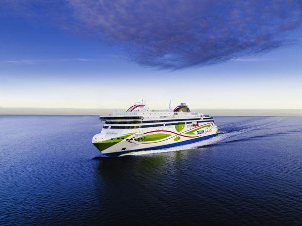 Megastar on Tallinkin tuorein laiva.