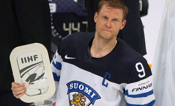 Mikko Koivu kipparoi keväällä Suomen MM-hopeajoukkuetta.