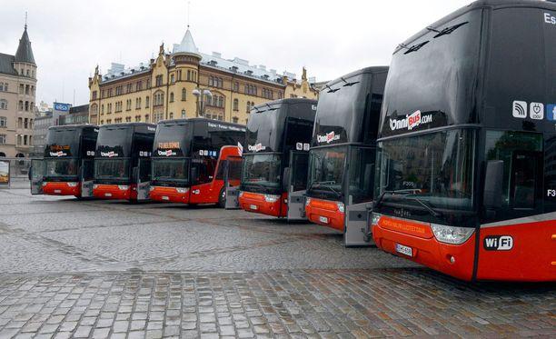 Onnibus saattaa levittäytyä myös raideliikenteeseen.
