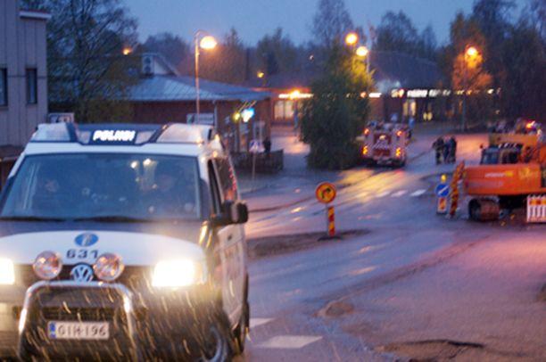 Poliisi otti kiinni viisi henkilöä suuroperaatiossa.