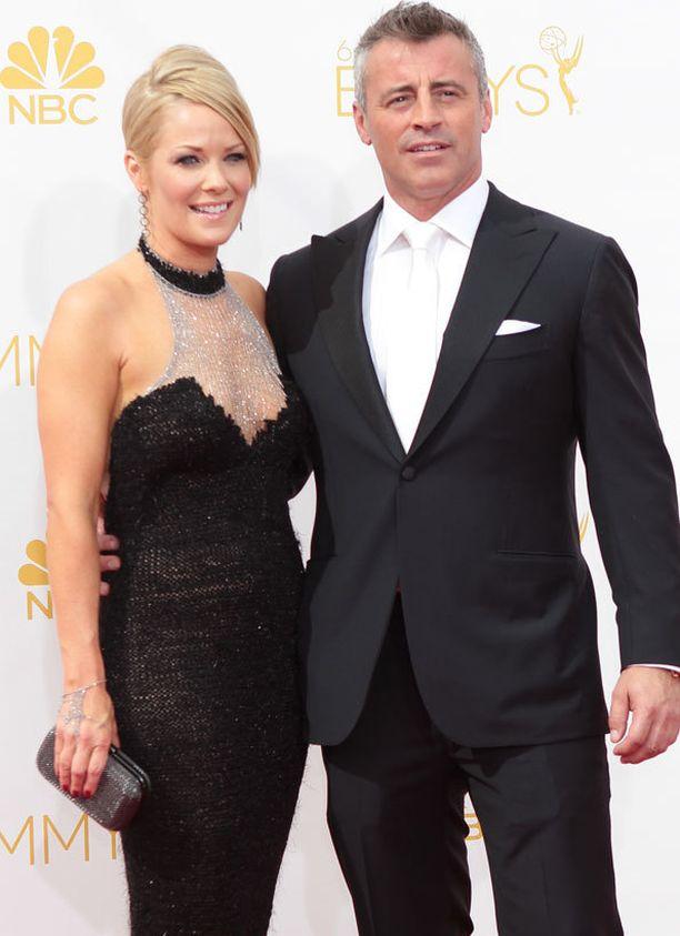 Andrea Anders ja Matt LeBlanc näyttelivät yhdessä Joey-sarjassa.