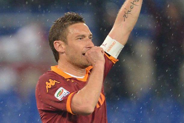 Francesco Totti juhli maalia numero 226.