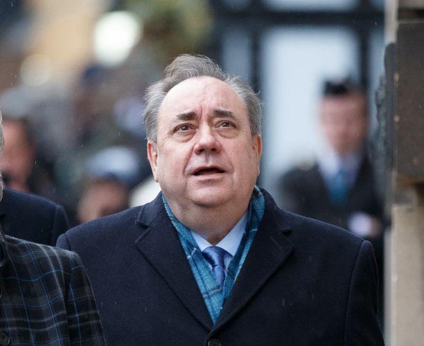 Alex Salmondia syytetään vakavista seksuaalirikoksista.
