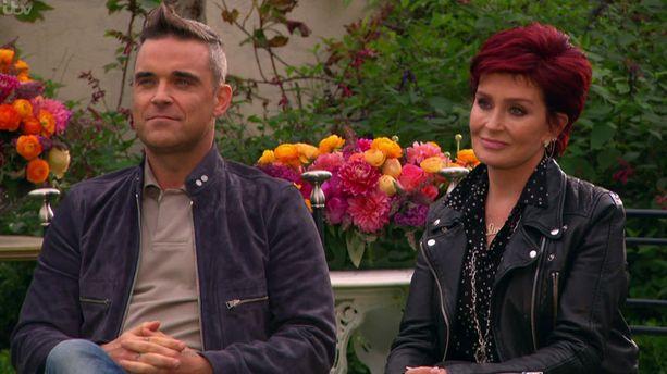 Robbie Williams toimii illan jaksossa Sharon Osbournen aputuomarina.