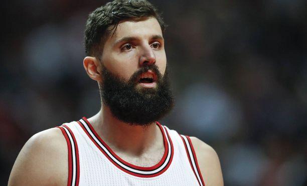 Nikola Mirotic vahvistaa pian Chicago Bullsia. Joukkue pelaa tällä viikolla neljä ottelua.