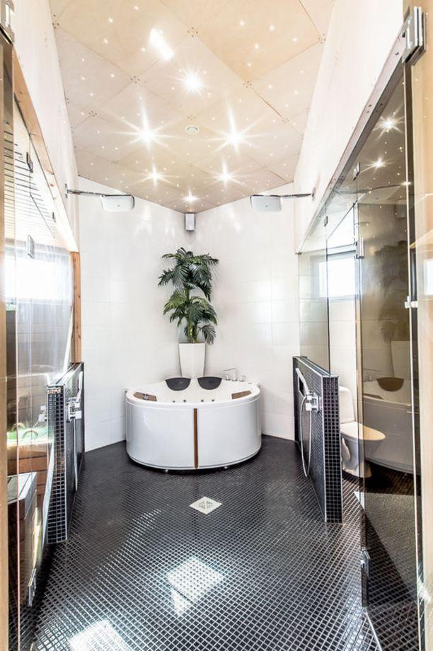 Talon alakertaan tuo luksusta spa-osasto.