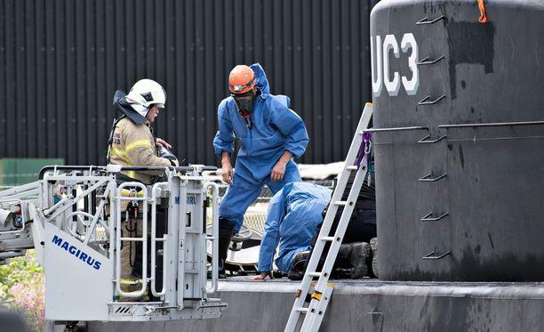 Nautilus-sukellusvene nostettiin viikonloppuna ylös merestä.