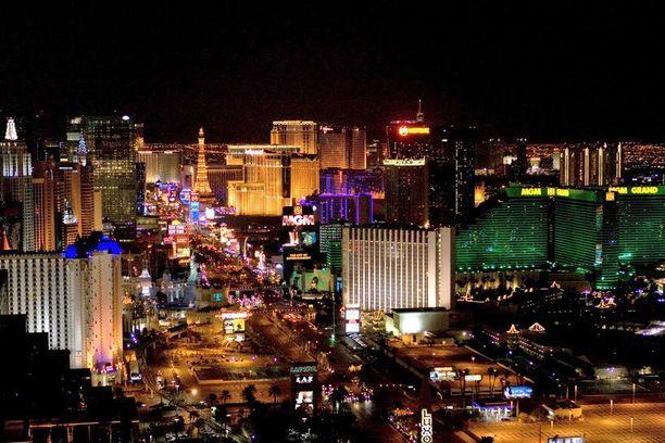 Las Vegasissa on paljon tekemistä.
