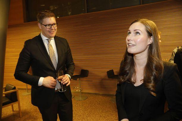 Joulukuussa 2019 Sanna Marin vei niukasti voiton Antti Lindtmanista kisassa Suomen pääministeriydestä.