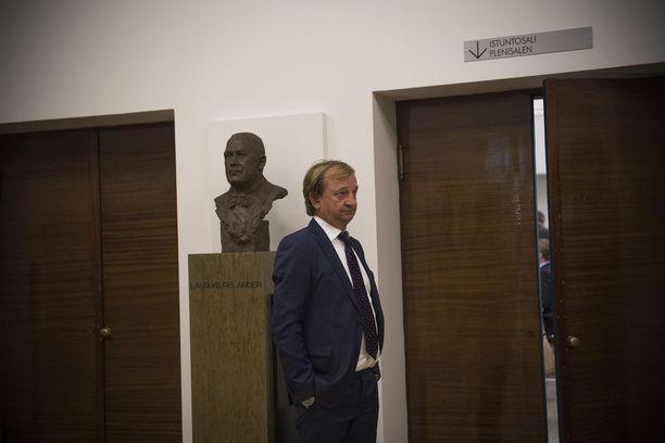 Hjallis Harkimo on yksi uuden poliittisen liikkeen johtohahmoista.