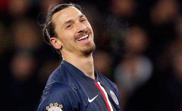 Zlatan Ibrahimovicia eivät tuomarit komentele.