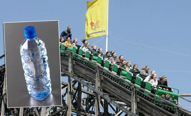 Vesipullon hinta huvipuistossa yllätti IL:n lukijat.