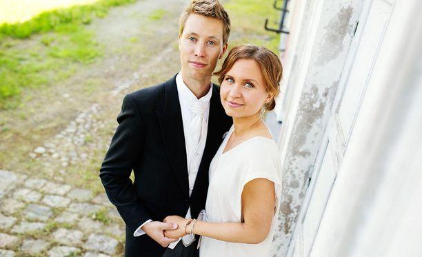 Esa ja Viola kesällä 2014.