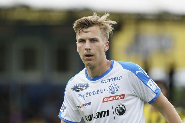 Lucas Lingman teki läpimurtonsa RoPSissa. Nyt hän palaa HJK:hon.