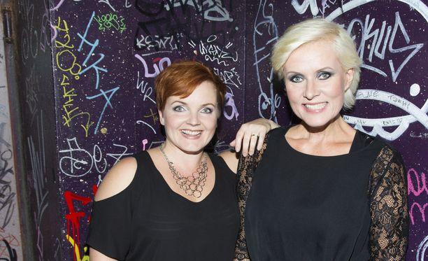 Nina Tapio ja Hanna-Riikka Siitonen olivat paitsi työkavereita, myös parhaita ystäviä.