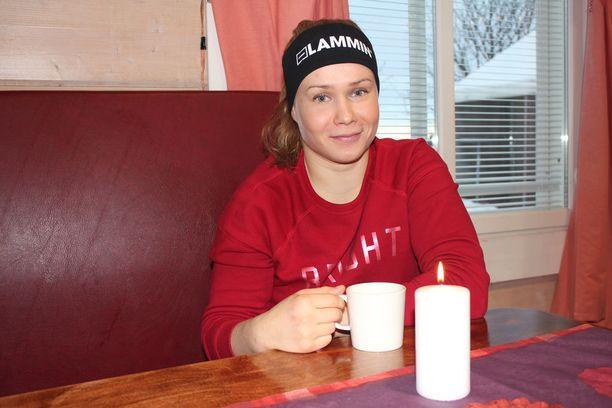 Joulu on Petra Ollille kiireetöntä rauhoittumista läheisten kanssa.