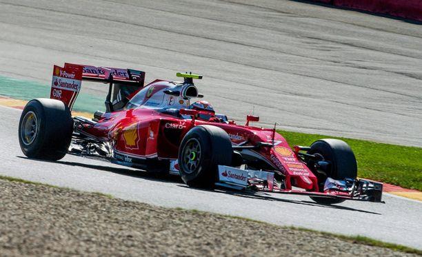 Kimi Räikkönen onnistui hyvin Belgian GP:n aika-ajossa.