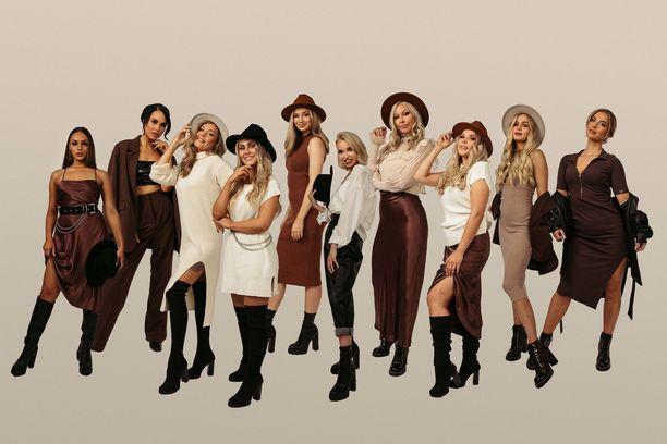 Tässä ovat uudet Miss Helsinki -finalistit.