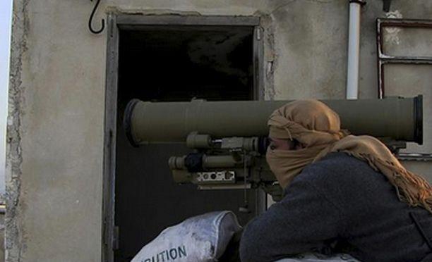 Taistelija Syyriassa