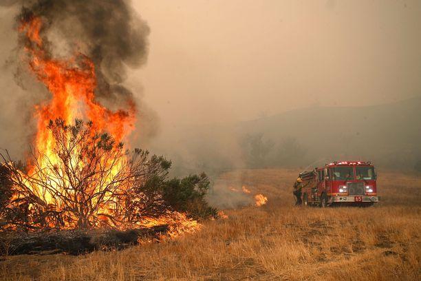 Palokunta yritti saada Woosleyn paloa hallintaansa viime torstaina.