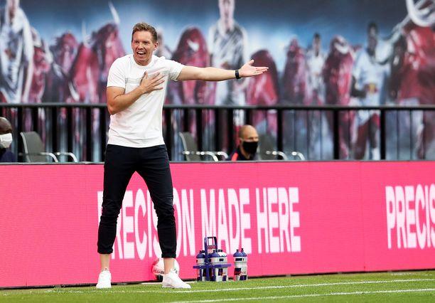 Julian Nagelsmannin luotsaama Leipzig on pelannut yhdeksän viimeistä otteluaan Bundesliigassa tappioitta.