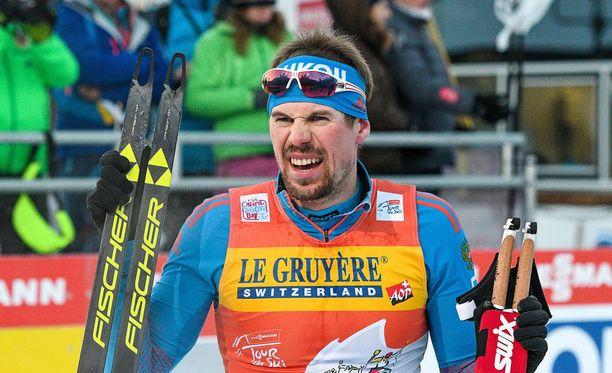 Viime kauden hiihtokomeetta Sergei Ustjugov ei hiihdä Etelä-Korean olympiakisoissa.