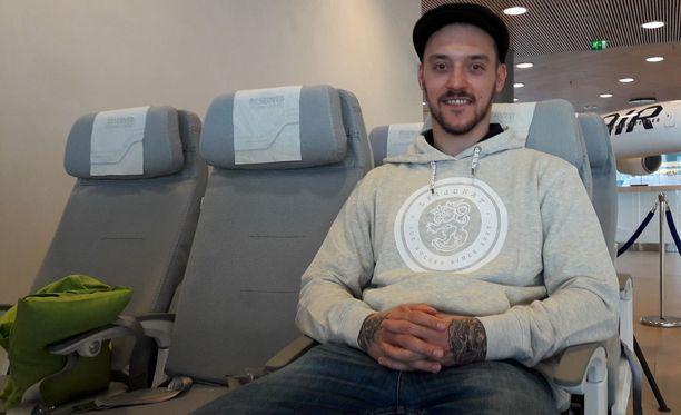 Juhamatti Aaltonen lentää keskiviikkoaamuna MM-kisoihin Pariisiin.