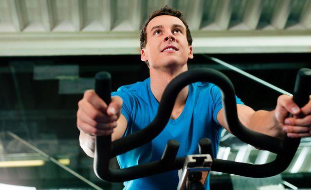 Kuntopyöräily on tehokasta liikuntaa.