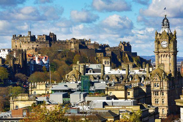 Edinburghissa järjestetään kummituskierroksia.