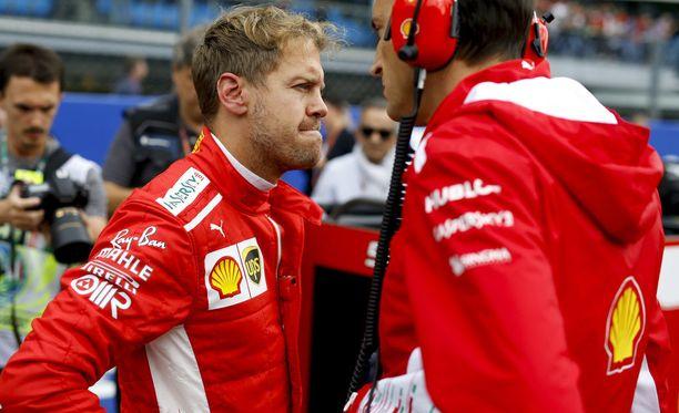 MM-sarjan tilanne ei hymyilytä Sebastian Vetteliä.