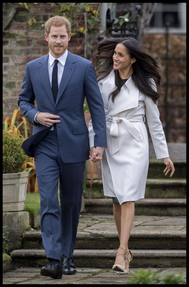 Prinssi Harry ja Meghan menivät naimisiin kesällä 2018.