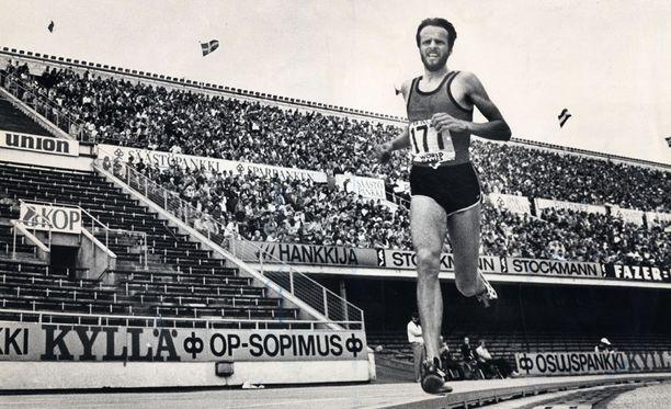 Lasse Virénin kultavuodet olivat 1970-luvulla.