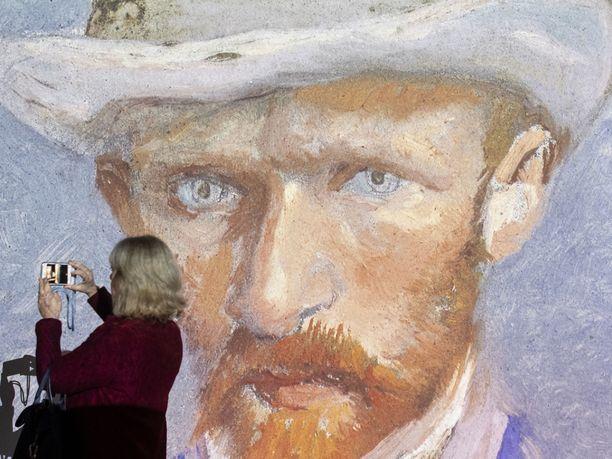 Kuva Van Goghin multimedianäyttelystä Zürichissä, Sveitsissä helmikuussa 2020.