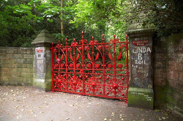 Tältä kuuluisa portti näyttää.